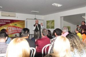 O seminário foi uma iniciativa do deputado federal Ronaldo Benedet.