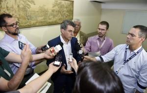 Durante seu discurso o presidente informou, em primeira mão aos prefeitos gaúchos, uma consulta que será realizada em todos os estados.