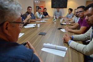 Reunião realiza na última terça-feira, 17, definiu municípios e meses que o projeto Juventude na Estrada será realizado no estado.