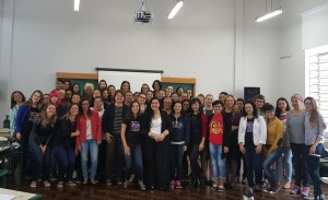 Turma do II Curso de Iniciação à Formação  Politica para Mulheres